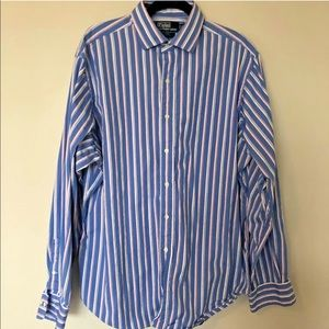 POLO RALPH LAUREN Mens Oxford Dress Shirt 17/XL